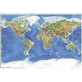 世界地図 Planetary Visions ポスター