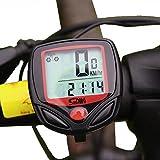 GIANCOMICS 自転車サイクルメーター ワイヤレスサイクルメーター サイクルコンピューター 速度 走行距離 走行時間計測 防水