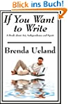 If You Want to Write (English Edition)