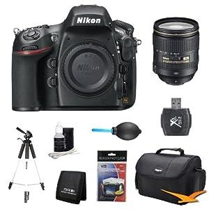 Nikon D800E 36.3 MP CMOS FX-Format Digital SLR Camera Body 24-120mm Lens Kit