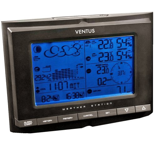 Ventus W831 Weather Station Black