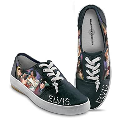 Amazon.com: Elvis Presley Signature Canvas Sneakers by The
