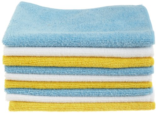 AmazonBasics Microfiber Cleaning Cloth - 24 Pack