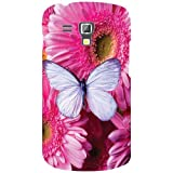 Samsung Galaxy S Duos 7562 Phone Cover - Pink Flower Phone Cover