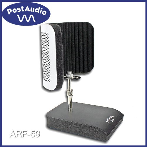 Post Audio Arf-59 Vocal Booth With Isolated Shock Mounted Desk Stand