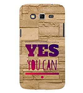 EPICCASE motivational quotes Mobile Back Case Cover For Samsung Galaxy Grand Max (Designer Case)