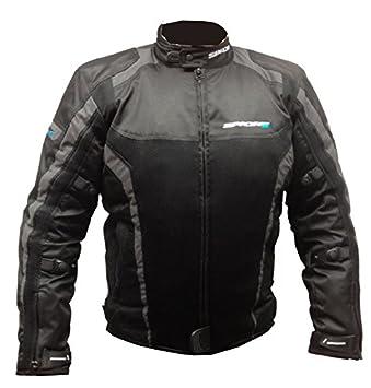 Nouveau Spada moto Textile veste Corsa GP Air noir/gris