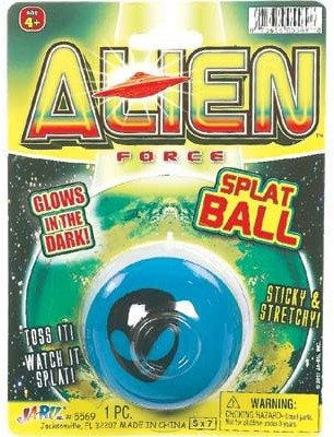 Alien Glow Splat Ball - 1