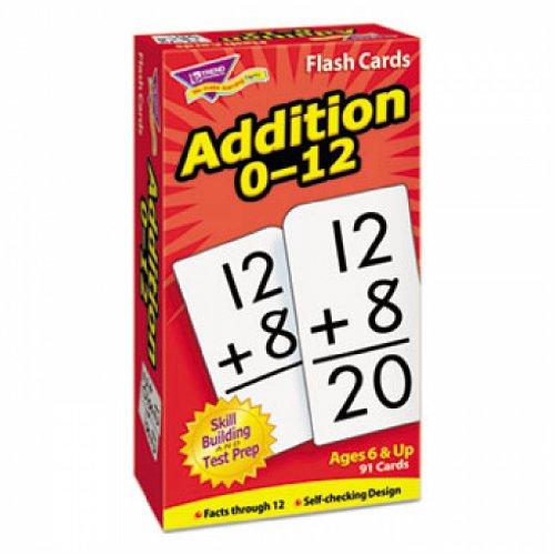 Skill Drill Flash Cards, 3 x 6, Addition - 1