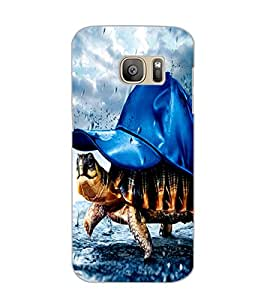 SAMSUNG GALAXY S7 TORTOISE Back Cover by PRINTSWAG