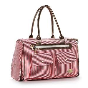 HOODDEAL Fashion Dog Carrier Handbag Purse Tote Bag Pet Cat Dog Hiking Backpack + Dog Bandana by HOODDEAL