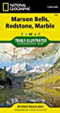 National Geographic Maps Maroon Bells/Redstone/Marble Trails Illustrated (National Geographic Maps: Trails Illustrated)