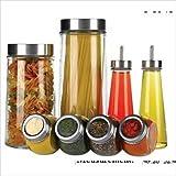 Crystal Clear Stylesetter 8-Piece Kitchen Storage Set