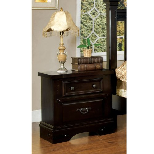 Taylor Country Style Nightstand With Felt-Lined Drawer front-886854