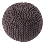 J & M Home Fashions Cotton Knitted Po...