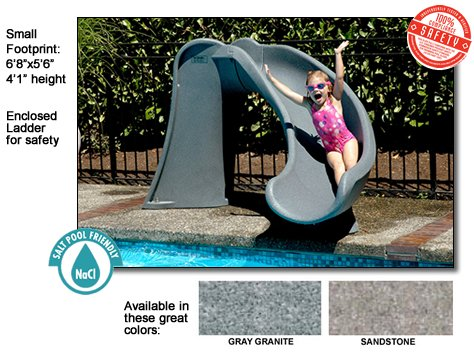 Pool Slides:Blue influx NE7400 Cyclone slip in Sandstone Images
