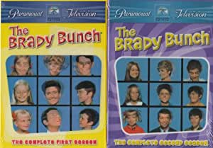 The Brady Bunch: The Complete First and Second Season (DVD) - Starring Robert Reed and Florence Henderson (DVD - 2011)