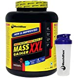 MuscleBlaze Mass Gainer XXL, Chocolate 3kg / 6.6 Lbs With Free Shaker