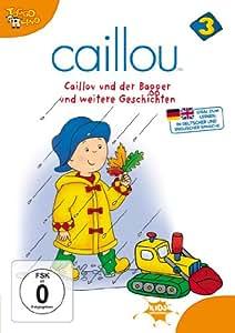 DVD Caillou 03 - Caillou und der Bagger: Amazon.co.uk: DVD ... Caillou Family Collection 9 13