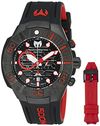 technomarine-mens-black-reef-swiss-quartz-stainless-steel-casual-watch-model-tm-515018
