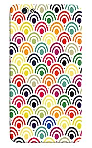 Omnam Pattern Made Of Colored Printed Designer Back Cover Case For Gionee S6