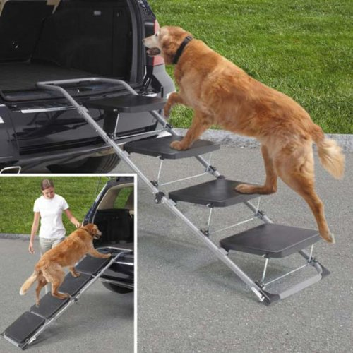 Guardian Gear 4-Step Auto Dog Ramp