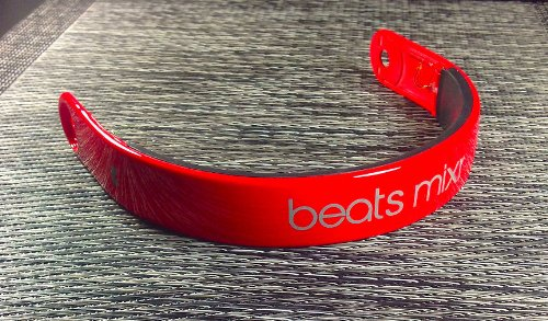 Red Replacement Monster Beats Mixr Headband