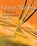 img - for Student Solutions Manual with Study Guide for Poole's Linear Algebra: A Modern Introduction, 3rd book / textbook / text book