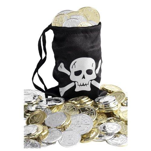Smiffys Pirate Coin Bag - 1