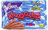 Wonka Kazoozles Chewy Candy, Cherry Punch, 3.5-Ounce Packages (Pack of 24)
