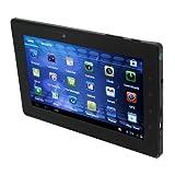 PD10 FreeLander GPSタブレット PC 7 インチ Android 4.0搭載 1.2GHz 1GB RAM 8GB 1080P ブラック