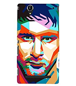 PRINTSHOPPII MESSI FANS Back Case Cover for Sony Xperia T2 Ultra::Sony Xperia T2 Ultra Dual