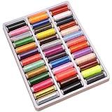 Feichen Un set Hilo de coser de 39 colores hilos punto de cruz hilos para tejer