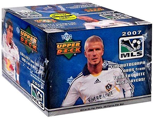 Upper Deck MLS 2007 Soccer Trading Card Box [36 Packs] by Upper Deck