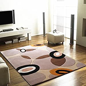 Ustide modern large area rug collection for Living room rugs amazon