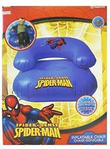 Amazon Com Spiderman Inflatable Chair Blue Spiderman