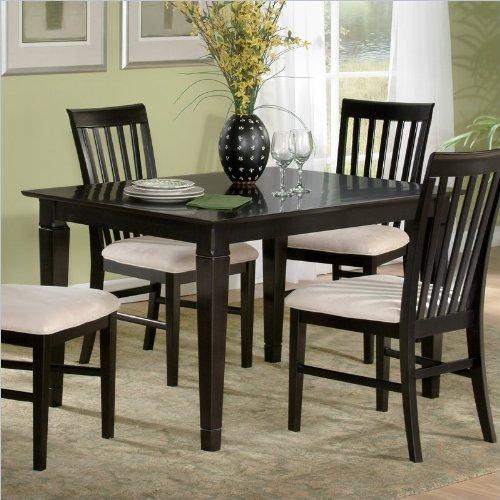 Atlantic Furniture Deco Dining Table in Espresso -