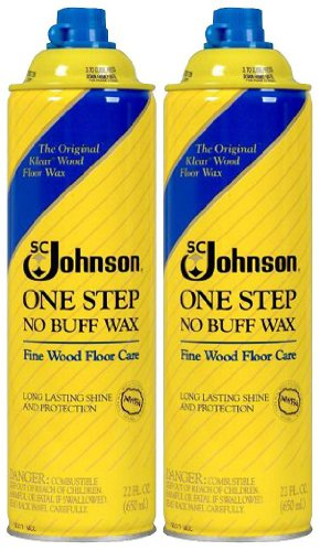 SC Johnson Fine Wood One-Step Wax - 22 oz - 2 pk