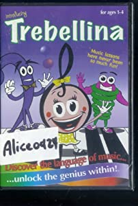 Trebellina Ages 1-4 Music Dvd