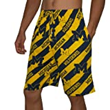 NCAA Mens Michigan Wolverines Cotton Sleepwear / Pajama Shorts - Multicolor (Size: 2XL) at Amazon.com