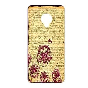 Vibhar printed case back cover for Micromax Canvas Spark Q380 MusicGrFlo