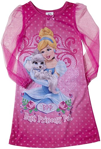 Disney Junior Little Girls' Cinderella Palace Pets Gown (Toddler)-Pink