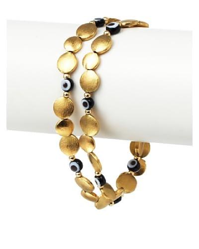 Blee Inara Gold Eye Wrap Bracelet/Necklace