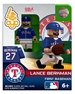 Lance Berkman 2013 Generation 2 Oyo Mini Figure Texas Rangers by OYO