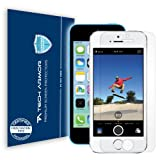 Tech Armor iPhone 5S / iPhone 5C / iPhone 5 Premium High Definition (HD) Clear Screen Protector [3-Pack] – Retail Packaging