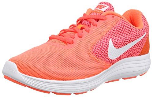 Nike Revolution 3 - Zapatillas de Entrenamiento, Mujer, Naranja (HYPR...