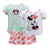 Disney Infant Girls Minnie Mouse XOXO 3 Piece Onsie Set