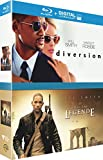 Will Smith: Diversion + Je suis une légende [Blu-ray + Copie digitale]