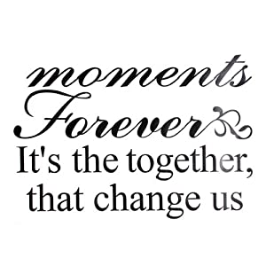 Moment Together Wall Decal Sticker PaperQuote Vinyl Art Mural Removable Home Decor By FamilyMall