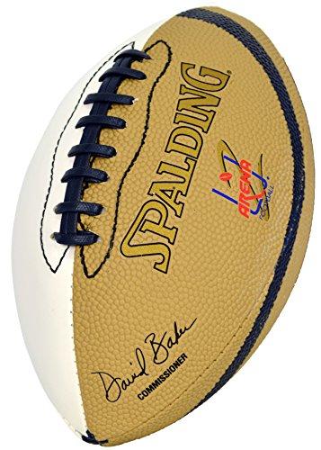 Spalding AFL 2 White Autograph Panel Kids Mini Football